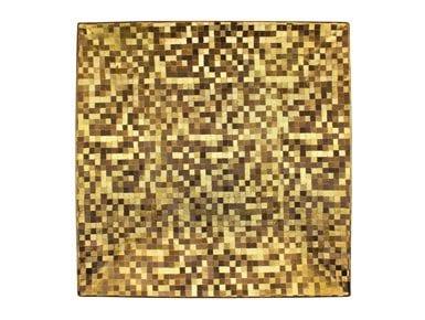 Golden Mosaic Charger