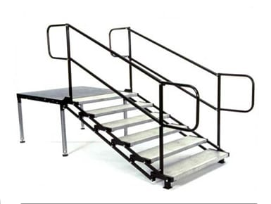 Eventmakers Adjustable Stage Stairs