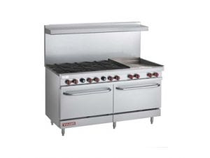Double Commercial Oven