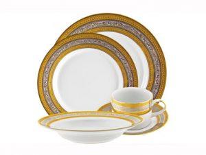 Gold and Platinum Rim China