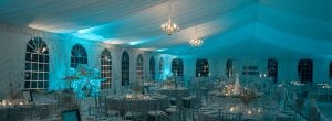 Beautiful Tent and Elegant Dressing and Staging