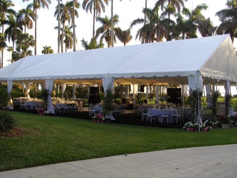A large variety of Tents