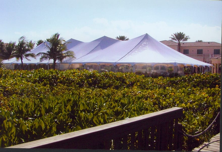 ... 60u0027u0027 x 150u0027u0027 pole tent with clear sidewalls. & Pole Tents Eventmakers.net | Eventmakers